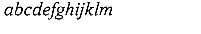 Amasis Italic Font LOWERCASE