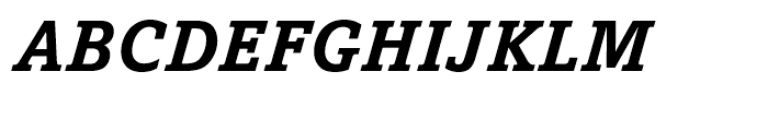 Amasis eText Bold Italic Font UPPERCASE