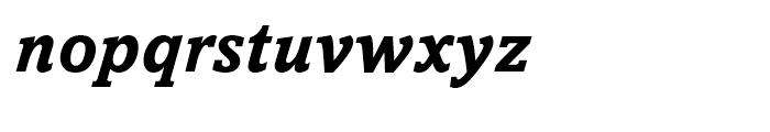Amasis eText Bold Italic Font LOWERCASE