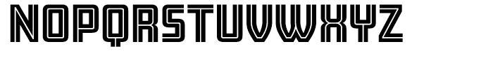 Amboy Regular Font UPPERCASE