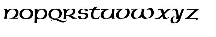 American Uncial Initials Standard D Font LOWERCASE