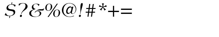 Americana Italic Font OTHER CHARS