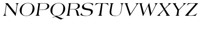 Americana Italic Font UPPERCASE