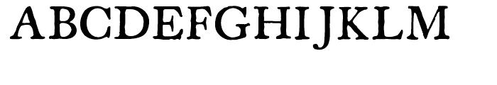 Americanus Regular Font UPPERCASE