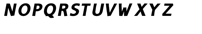 Amico Thin Bold Italic Font UPPERCASE