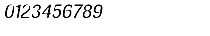 Amnesia Medium Oblique Font OTHER CHARS