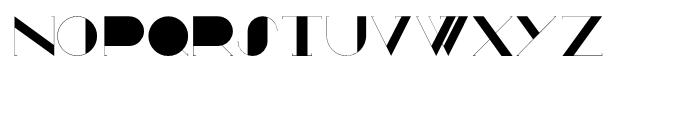 Ampersanders Regular Font UPPERCASE