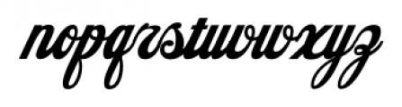 American Pop One Regular Font LOWERCASE