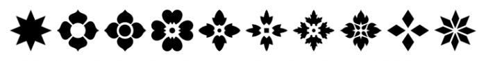 Americana Ornaments Regular Font OTHER CHARS