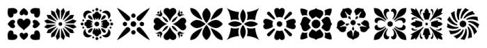 Americana Ornaments Regular Font UPPERCASE