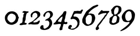 Americanus Pro Italic Font OTHER CHARS