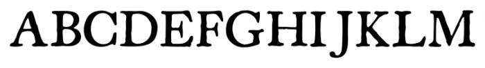 Americanus Pro Regular Font UPPERCASE