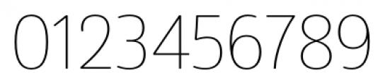 Amsi Pro Narrow Thin Font OTHER CHARS