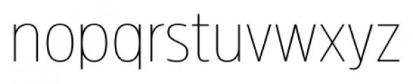 Amsi Pro Narrow Thin Font LOWERCASE