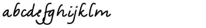 Amadeo Bold Alt Font LOWERCASE