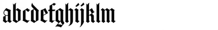 Amador Font LOWERCASE