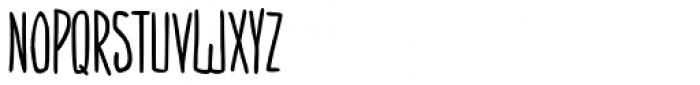 Amarelinha Bold Font LOWERCASE