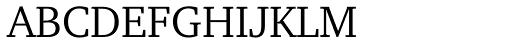 Amariya Light Font UPPERCASE