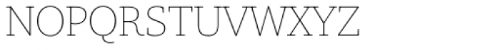Amariya Thin Font UPPERCASE