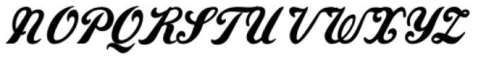 Amaro B Font UPPERCASE