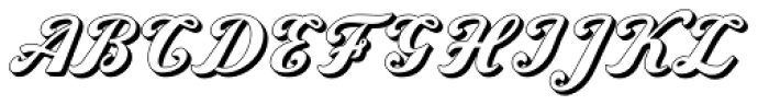 Amaro Block Font UPPERCASE