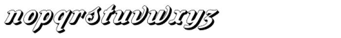 Amaro Block Font LOWERCASE
