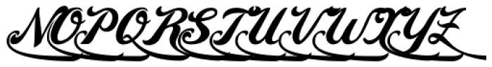 Amaro D Font UPPERCASE