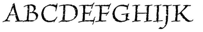 Amarone Regular Font UPPERCASE