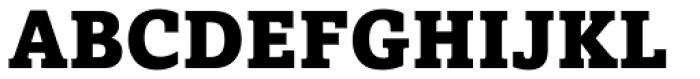 Amasis Pro Black Font UPPERCASE