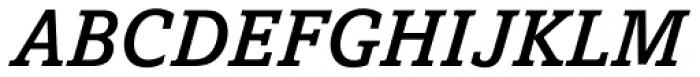 Amasis Pro Medium Italic Font UPPERCASE