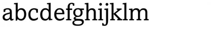 Amasis eText Regular Font LOWERCASE