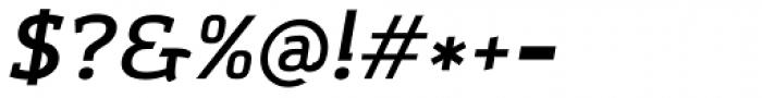 Amazing Grotesk Demi Bold Italic Font OTHER CHARS