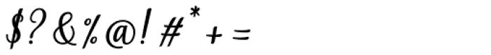 Ambar Bold Font OTHER CHARS