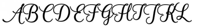 Ambar Bold Font UPPERCASE