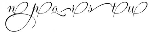 Ambassador Script Ends III Font UPPERCASE