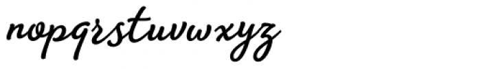 Amberly Bold Font LOWERCASE