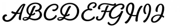 Amberly Heavy Font UPPERCASE