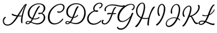 Amberly Light Font UPPERCASE