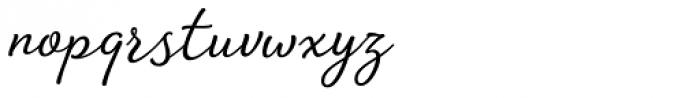 Amberly Light Font LOWERCASE