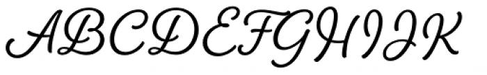 Amberly Medium Font UPPERCASE
