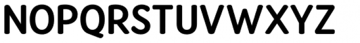 Amberly Sans Bold Font UPPERCASE