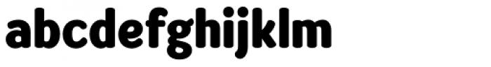 Amberly Sans Heavy Font LOWERCASE