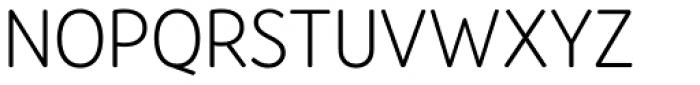 Amberly Sans Light Font UPPERCASE