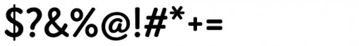 Amberly Sans Semi Bold Font OTHER CHARS