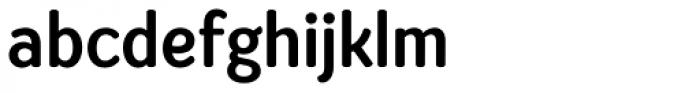 Amberly Sans Semi Bold Font LOWERCASE