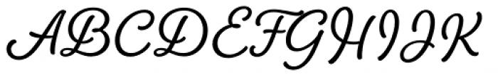 Amberly Semibold Font UPPERCASE