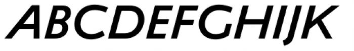 Ambiguity Tradition SemiBold Italic Font UPPERCASE