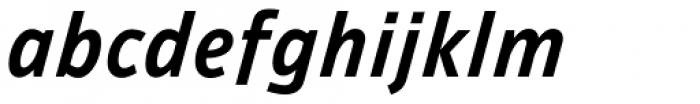 Ambiguity Tradition SemiBold Italic Font LOWERCASE