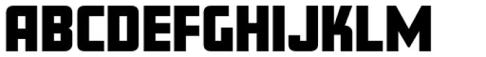 Amboy Black Font UPPERCASE