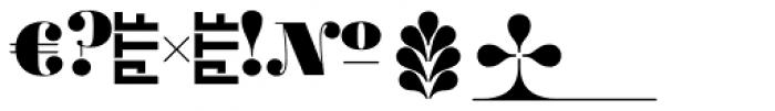 Ambroise Alt Black Font OTHER CHARS